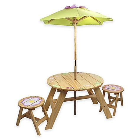 umbrella table and chairs teamson outdoor table and chairs set with umbrella in