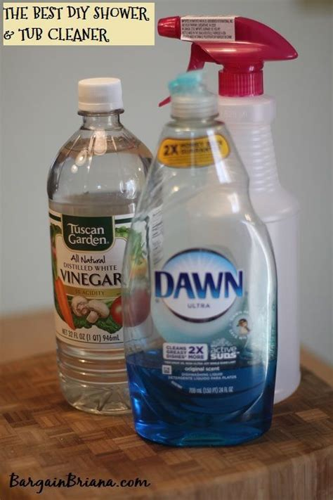 Diy Bathroom Cleaner Recipe - the best shower and tub cleaner recipe shower