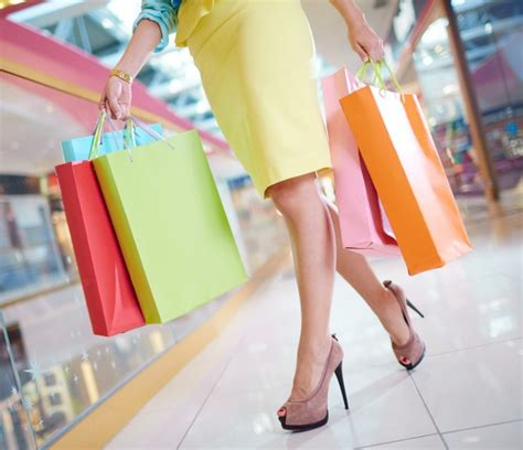 Awning Bags Shopping Woman With Skirt And Heels Photo Free Download