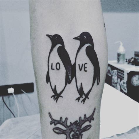 penguin tattoos for couples 75 best penguin designs meanings northern