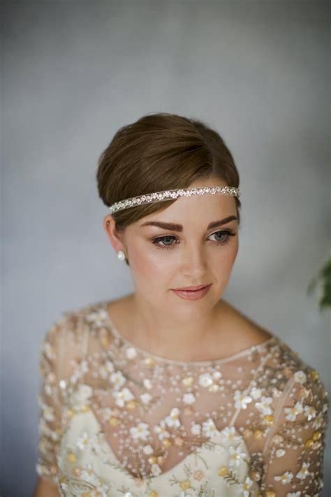 short hairstyles headbands wedding headbands for short hair midway media