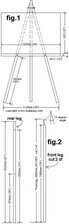 Make Blueprints How To Make An Easel