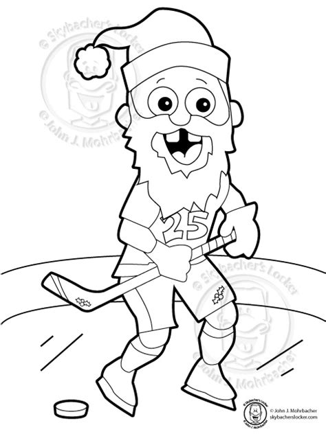 hockey christmas coloring pages holiday coloring pages skybacher s locker
