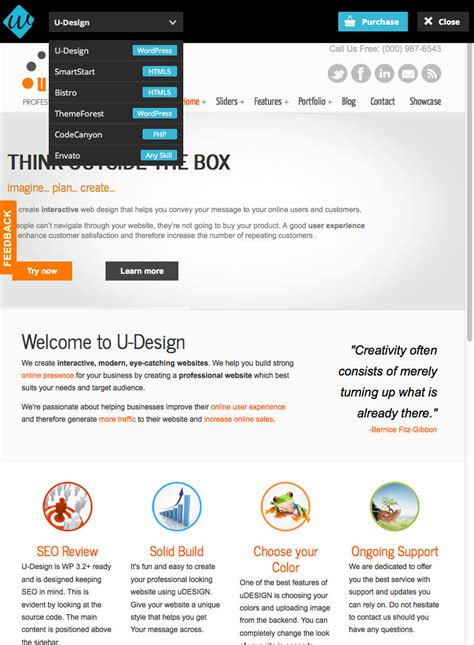 wordpress top bar plugin fbar responsive php theme switcher demo bar by