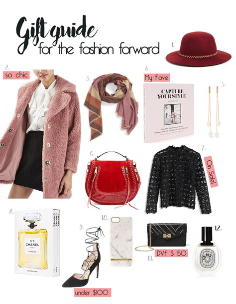 gift guide for gift guide for the fashion forward posh spicy