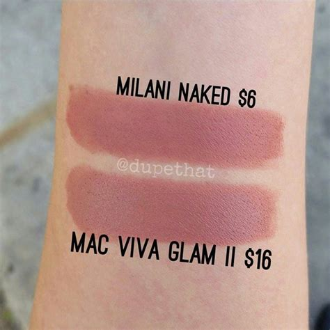 Eyeshadow Viva dupethat milani is a dupe for mac viva glam ii