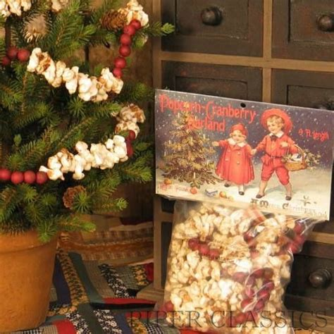 artificial popcorn cranberry garland popcorn cranberry garland trees garlands
