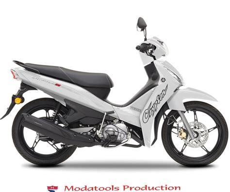 modatools yamaha crypton logolu motosiklet sticker