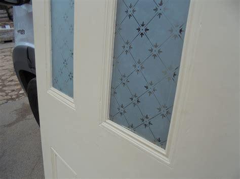 doors ed011 victorian 4 panel etched glass door with victorian 4 panel etched glass door with fleur glass