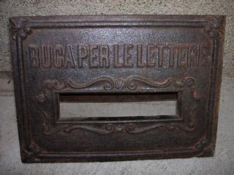 ufficio postale cento la vecchia buca per le lettere