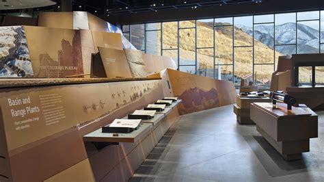 natural history museum  utah  rio tinto center graphis