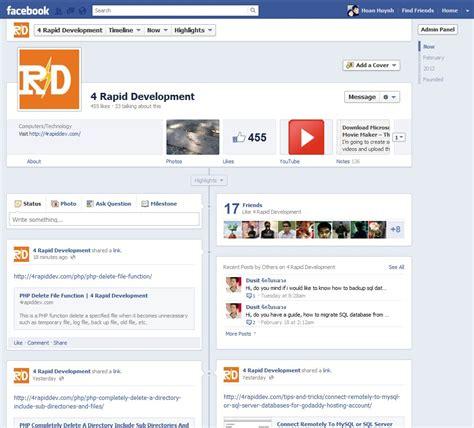 design house decor facebook facebook timeline and new design for pages 4 rapid