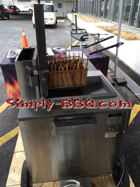 corn dog fryer machine simply bbq