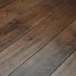 Real Wood Flooring Whitland 125mm Scraped Coffee Oak Solid Wood