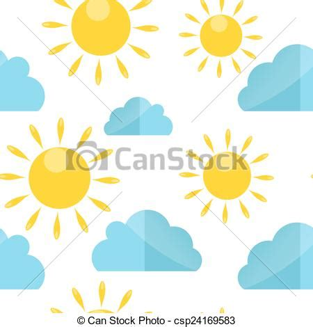 weather pattern drawing vector of weather seamless pattern vector illustration