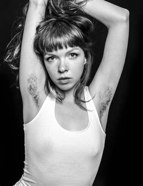 these photos of women with underarm hair are beautiful and photographer challenges female beauty standards with