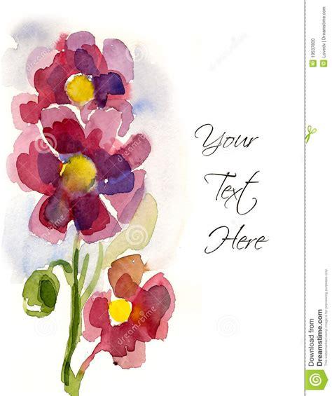 imagenes de flores dibujadas a mano flores pintadas a mano rosadas foto de archivo imagen