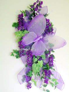 spring butterfly wreath artificialchristmaswreaths com 1000 images about swags garlands etc on pinterest door