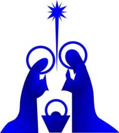 Religious vector design nativity silhouette from grand slam designs