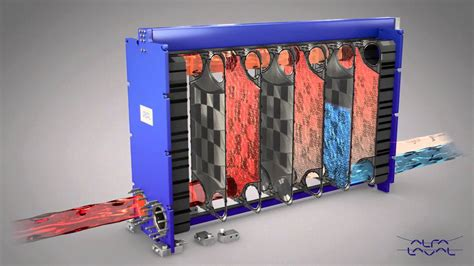 Describe How A Lava L Works by Alfa Laval 2 Pass Gasketed Plate And Frame Heat Exchanger