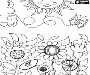 coloring pages field of flowers flowers coloring pages printable 2