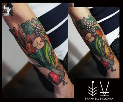 vegetable tattoo pinterest vegetables tattoo vegetales tattoo tattoo pinterest