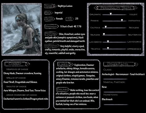 skyrim character template nephtys by saillard on deviantart