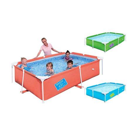 Maiinan Anak Berkualitas Kolam Renang Anak Bestway Kotak Polos Besar jual bestway 56218 kotak besar kolam renang anak harga kualitas terjamin blibli
