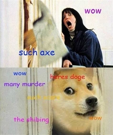 What Is The Doge Meme - doge meme is jack nicholson in the shining