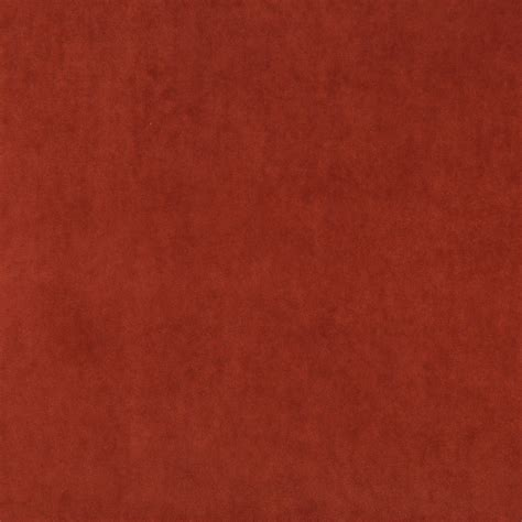 Upholstery Velvet Paprika Solid Plush Velvet Upholstery Fabric