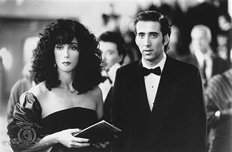 movie nicolas cage and cher pictures photos from moonstruck 1987 imdb