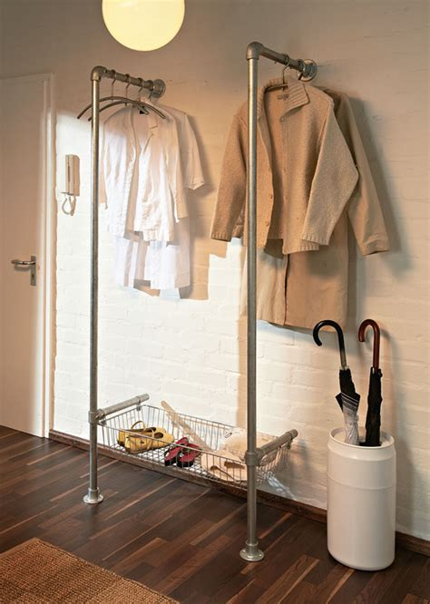 build your own modern clothing coat rack