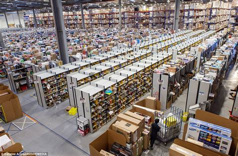 amazon warehouse amazon gets ready for black friday and cyber monday