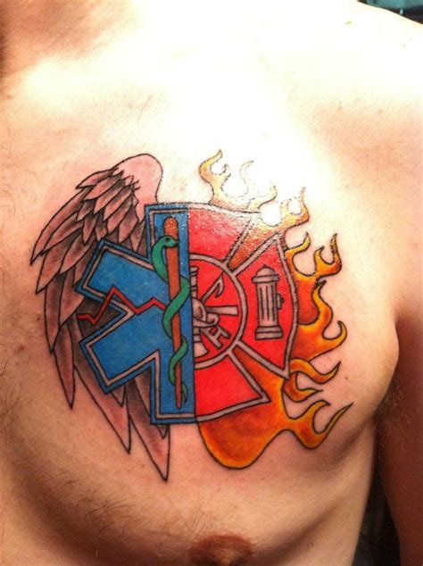 emt tattoo designs and paramedic i would never get this but i think it