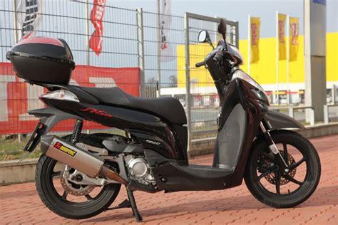 Honda Motorrad Tuning österreich by Honda Sh 300i Tune Up Modellnews