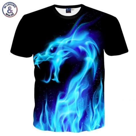 T Shirt Kaos Dual Shock Code mr 1991inc cool t shirt 3d tshirt print blue snake sleeve summer