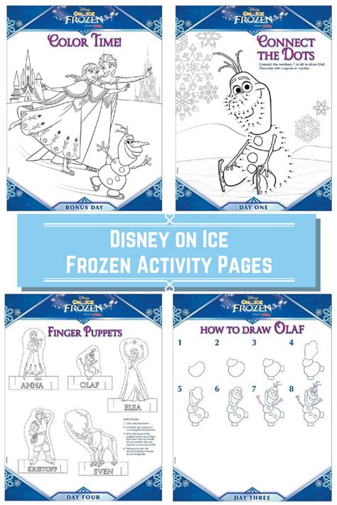 free frozen coloring pages and activities disney frozen activity pages from disney on