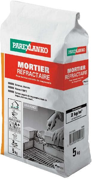 Mortier Refractaire Cheminee by Mortier R 233 Fractaire Sac 5kg Samse Fr