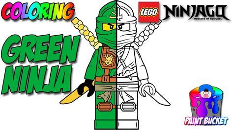 lego ninjago coloring pages of the green ninja lego ninjago green ninja lloyd garmadon minifigure lego