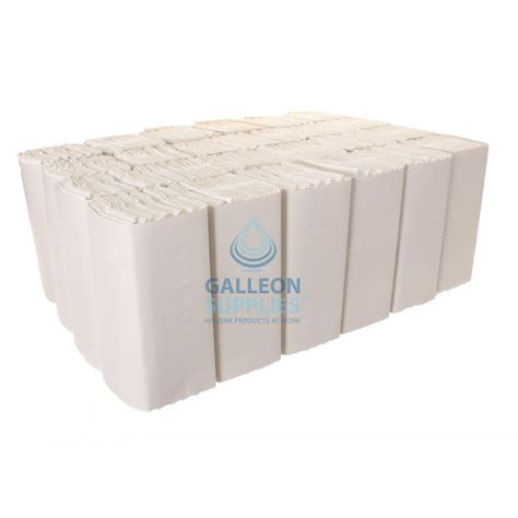 White C Fold Paper Towels - bulk galleon 2 ply white c fold flushable paper