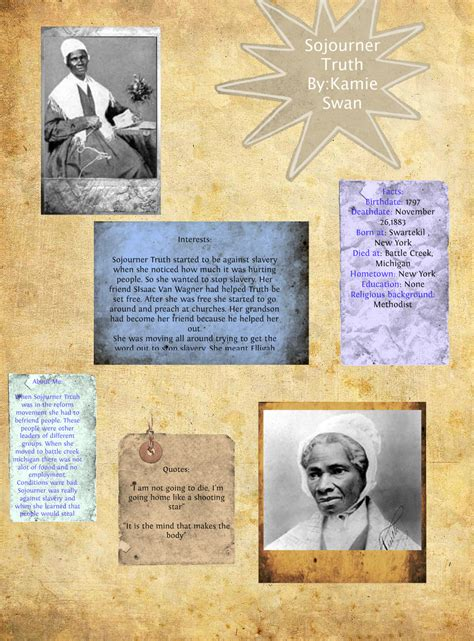 sojourner quotes sojourner quotes on slavery quotesgram