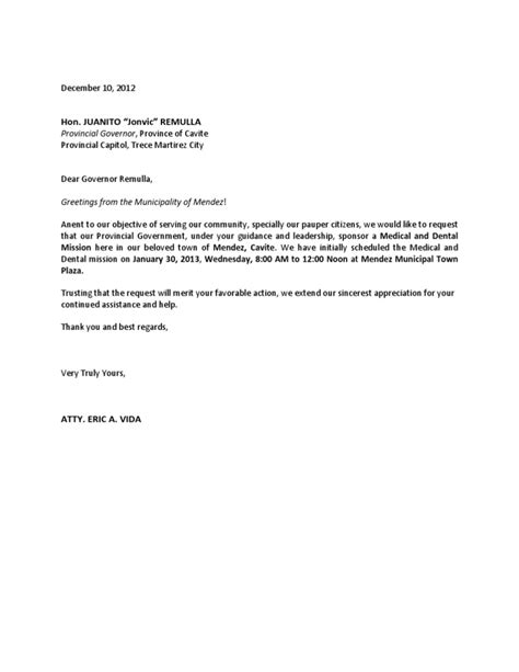 Support Letter For Welfare letter asking for financial assistance sle docoments