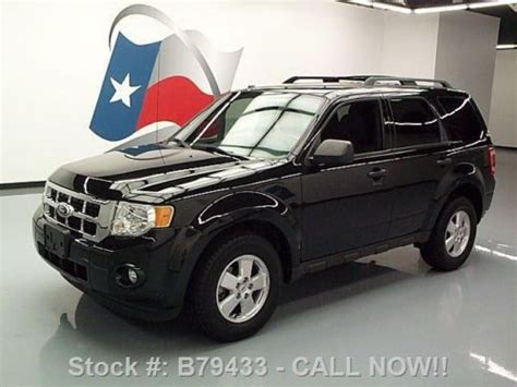 2011 Ford Escape Roof Rack by Buy Used 2011 Ford Escape Xlt Cruise Ctrl Roof Rack Alloys