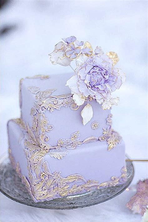 Mini Wedding Cakes by Best 25 Lilac Wedding Cakes Ideas On Lavender