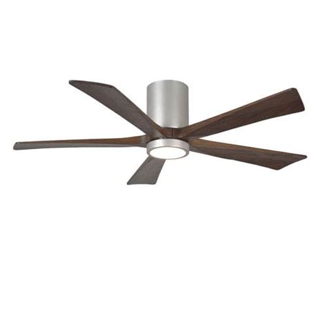 hugger 52 in brushed nickel ceiling fan nickel brushed transitional hugger ceiling fans bellacor