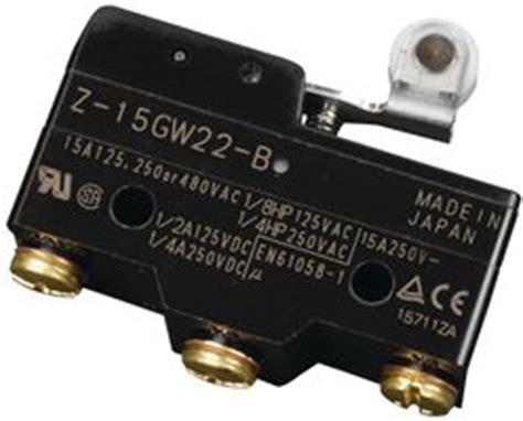 Limit Switch Omron Z 15gw22 B Z 15gw22 B Omron Z15gw22b Datasheet