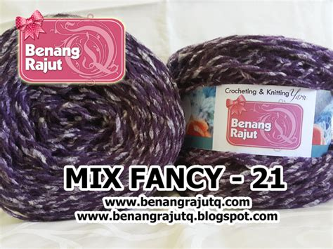Benang Mix benang rajut limited mix fancy yarn 21 benangrajutq
