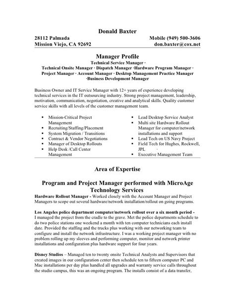 Infrastructure Project Manager by Infrastructure Project Manager Resume The Best Letter Sle