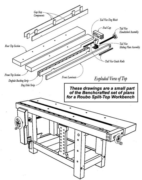 free roubo bench plans roubo workbench solutions
