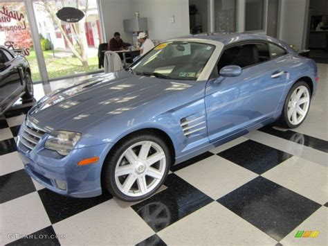 2005 aero blue pearlcoat chrysler crossfire limited coupe 56013860 gtcarlot car color